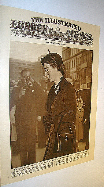 Image for The Illustrated London News (ILN), May 17, 1952 -  Cover Photo of the Queen at the British Industries Fair