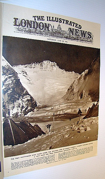 Image for The Illustrated London News (ILN), June 28, 1952 -  First Photo Ever Taken Inside the Western CWM of Mount Everest on Cover