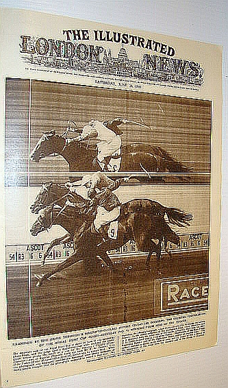 Image for The Illustrated London News (ILN) Magazine, June 26 1954 -  Photo Finish at Ascot