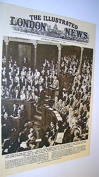 Image for The Illustrated London News (ILN) Magazine, September 11, 1954 -  Dr. E.D. Adrian Addresses the Opening of the British Association in Oxford