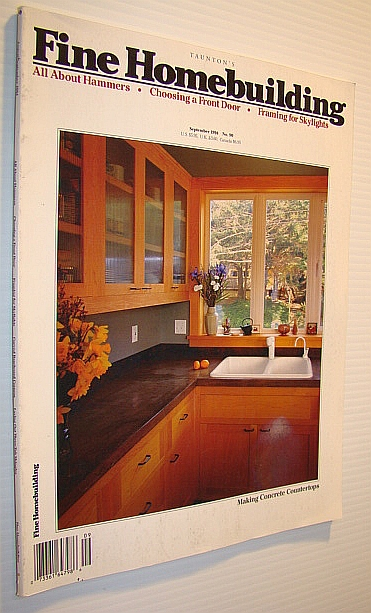 Image for Fine Homebuilding Magazine, September 1994 - No. 90: Making Concrete Countertops