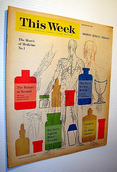 Image for This Week Magazine, October 25, 1964 - Insert to the Boston Sunday Herald: The March of (Prescription) Medicine No. 1