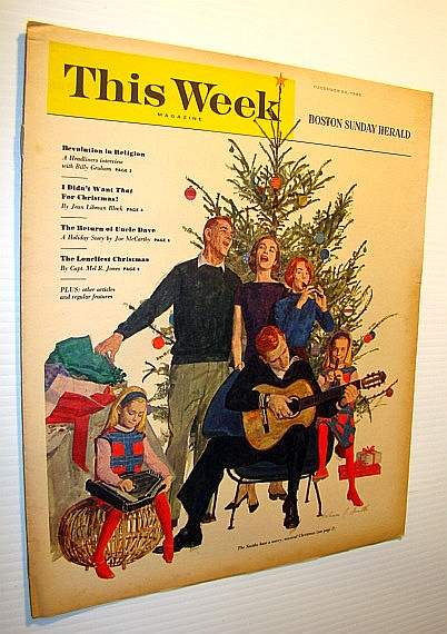 Image for This Week Magazine, December 26, 1965 - Insert to the Boston Sunday Herald: Interview with Billy Graham