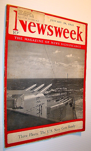 Image for Newsweek - The Magazine of News Significance: January 20, 1941 - Hitler Keeps Balkans on Edge