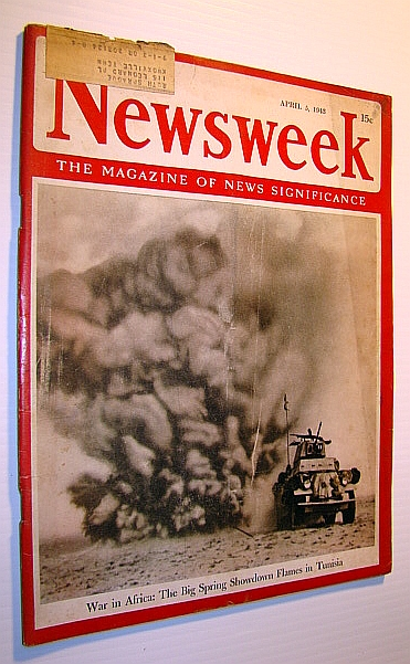 Image for Newsweek - The Magazine of News Significance, April 5,1943 - War in Africa