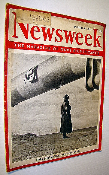Image for Newsweek - The Magazine of News Significance, January 10, 1944 - Allied Chiefs Confident This is Year of Victory
