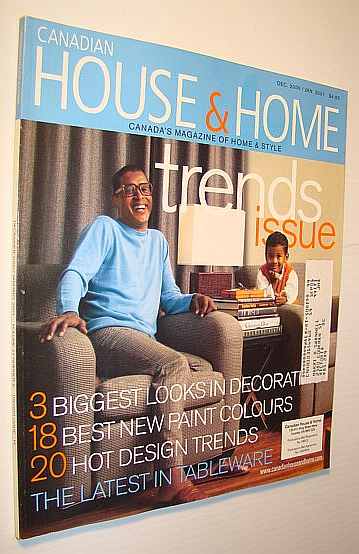 Image for Canadian House and Home Magazine, December 2000 / January 2001 - Trends Issue