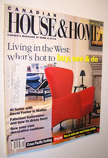 Image for Canadian House and Home Magazine, May / June 1994 - Living in the West