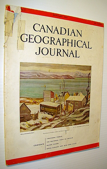 Image for Canadian Geographical Journal, January, 1957 - Upper Canada and New York State