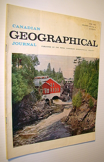Image for Canadian Geographical Journal, June 1962: Inuvik - Canada's New Arctic Town