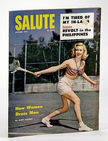 Image for Salute Magazine, October (Oct.) 1947, Vol. 2, No. 10 -  Revolt in the Philippines / Magazine Mogul Bernarr Macfadden
