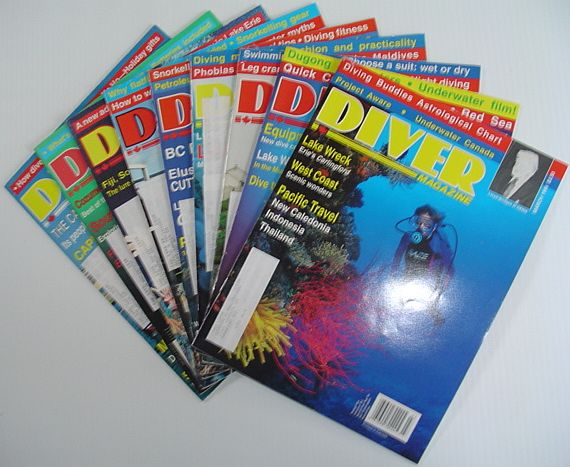 Image for Diver Magazine: 9 Issues from 1994