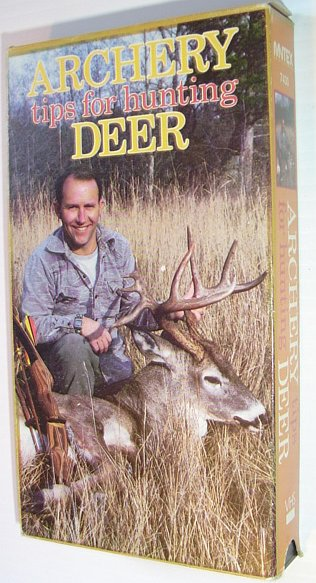 Image for Archery Tips for Hunting Deer: 30 Minute VHS Video Tape in Case