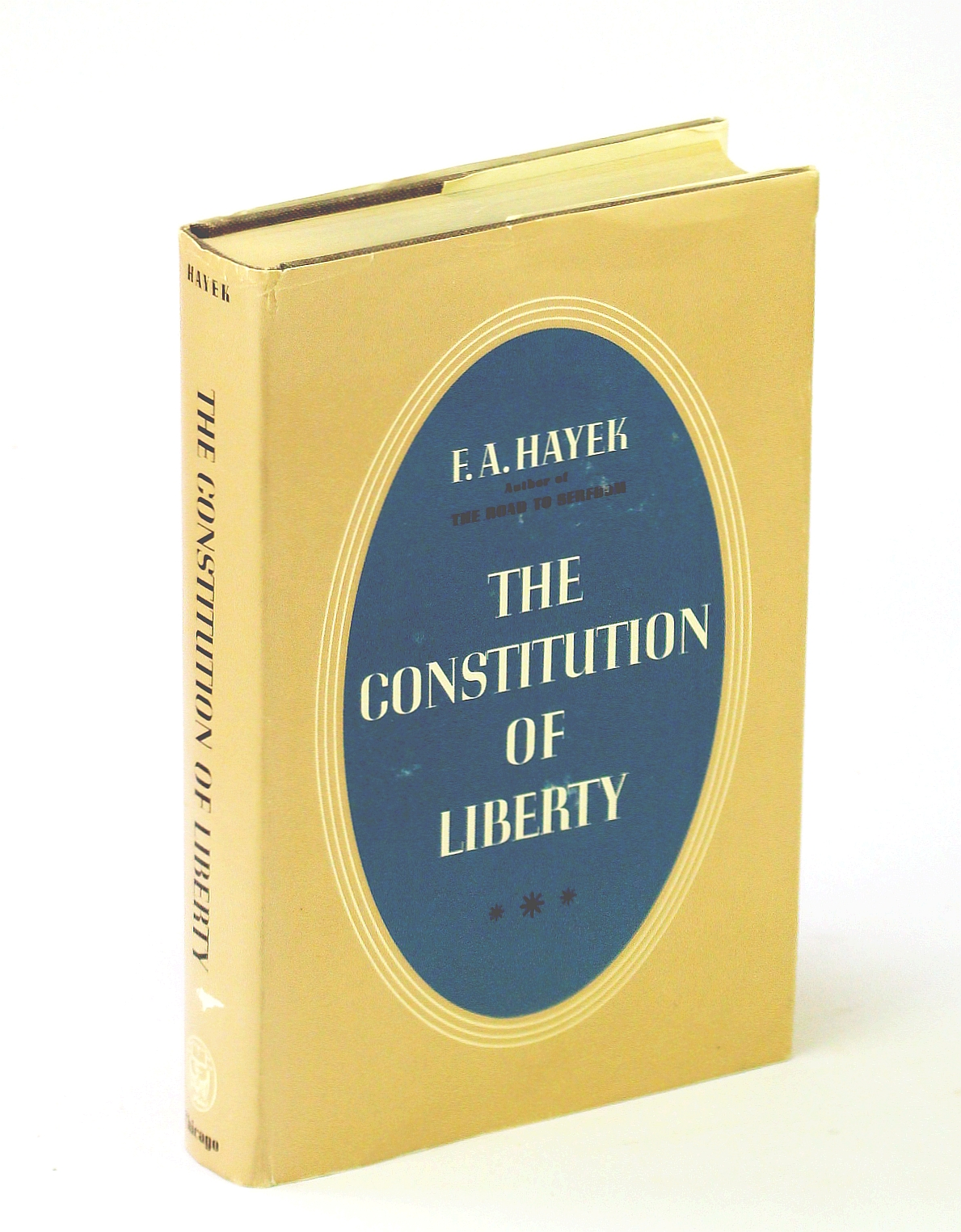 Image for The Constitution of Liberty