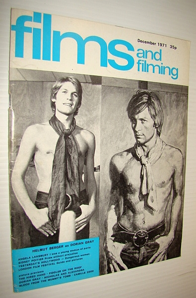 Image for Films and Filming Magazine, December 1971 - Cover Photo of Helmut Berger as Dorian Gray