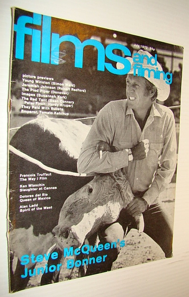 Image for Films and Filming Magazine, July 1972: Steve McQueen Cover Photo (from 'Junior Bonner')