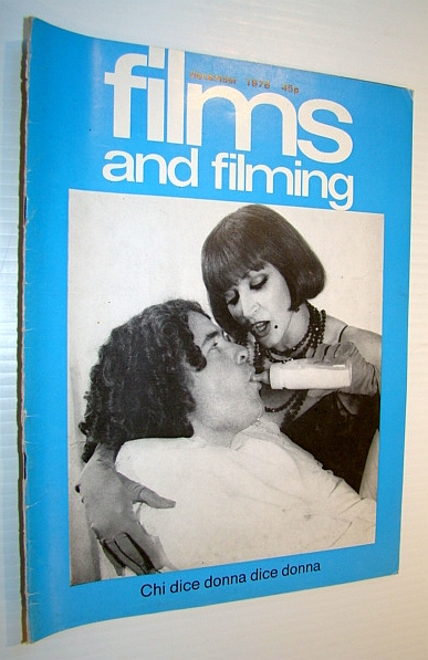Image for Films and Filming Magazine, December 1976 - Cover Photo of Francoise Fabian