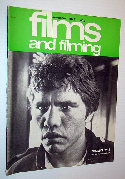 Image for Films and Filming Magazine, December 1977 - Tommy Lewis Cover Photo