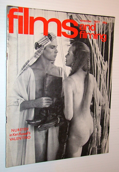 Image for Films and Filming Magazine, November 1977 - Nureyev Cover Photo from 'Valentino'