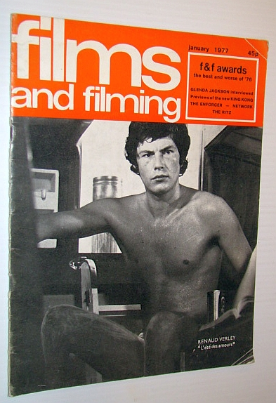 Image for Films and Filming Magazine, January 1977 - Cover Photo of Renaud Verley in L'ete Des Amours