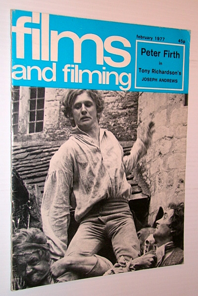 Image for Films and Filming Magazine, February 1977 - Cover photo of Peter Firth in Tony Richardson's 'Joseph Andrews'
