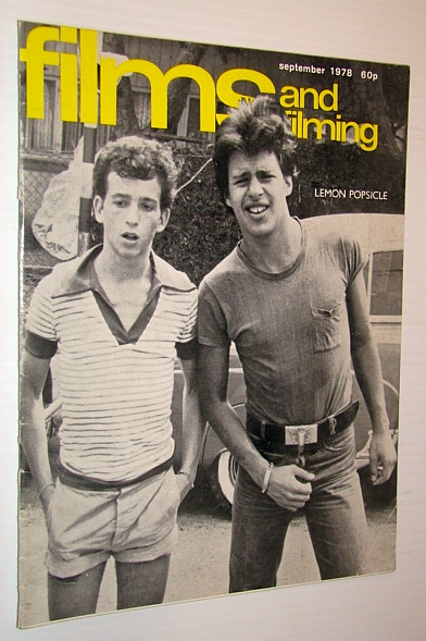 Image for Films and Filming Magazine, September 1978 - Cover Photo from 'Lemon Popsicle'