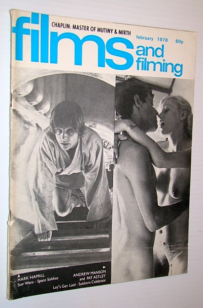 Image for Films and Filming Magazine, February 1978 - Cover Photos of Mark Hamill, Andrew Manson and Pat Astley