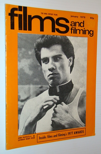Image for Films and Filming Magazine, January 1978 - Cover Photo of John Travolta in 'Saturday Night Fever'