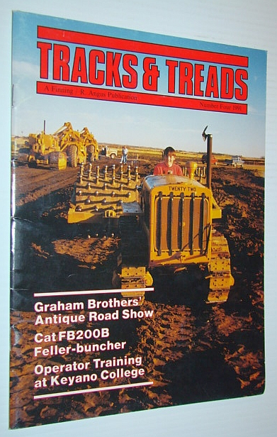 Image for Tracks and Treads Magazine, Number Four (4) 1991