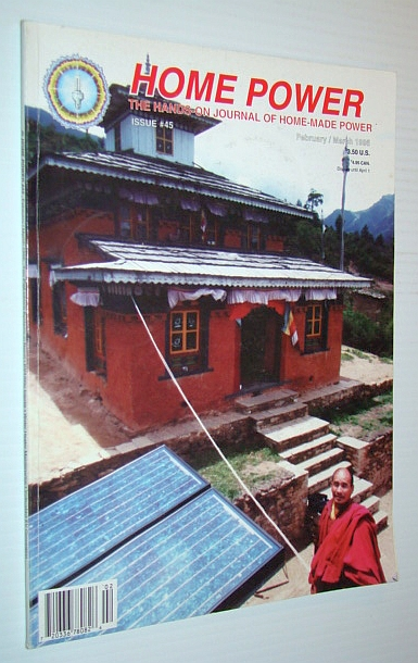 Image for Home Power - The Hands-On Journal of Home-Made Power, Issue #45, February / March 1995
