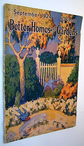 Image for Better Homes and Gardens Magazine, September 1924, Vol. 3, No. 1 - William Penn House
