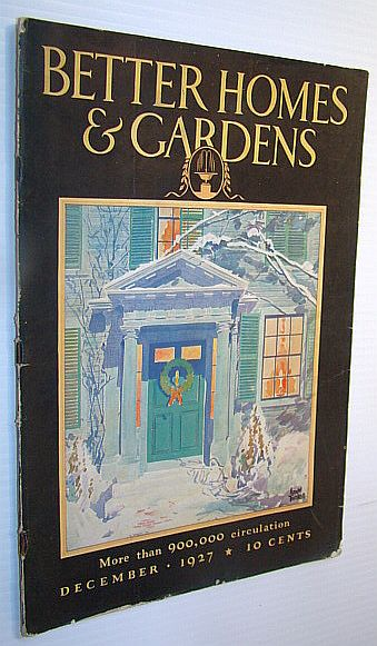 Image for Better Homes and Gardens Magazine, December 1927 -  William Allen White in His Garden - Article with Photos