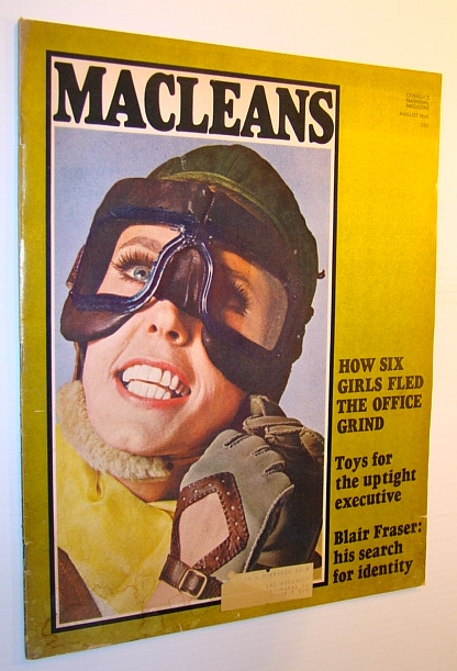 Image for Maclean's Magazine, August 1968: Blair Fraser's Search for Identity