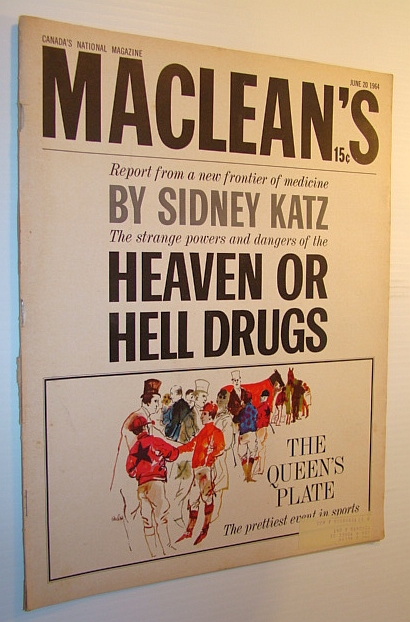Image for Maclean's Magazine, 20 June  1964 - Heaven or Hell Drugs
