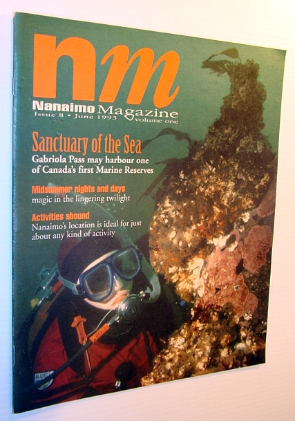 Image for Nanaimo Magazine, June 1993 - Gabriola Island Diving Photo on Cover