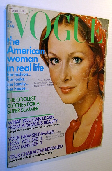 Image for Vogue Magazine (US), June 1972