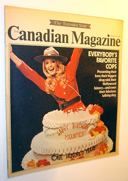 Image for The Canadian Magazine, January 27, 1973 - RCMP-Theme Issue