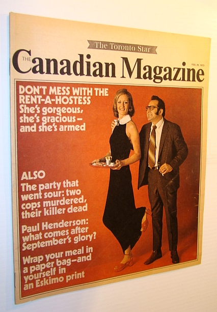 Image for The Canadian Magazine, February 24, 1973 - Amazing Story of Paul Henderson's Low Following Team Canada's Win