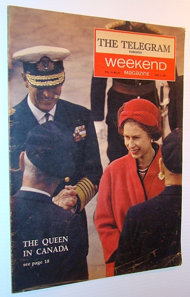 Image for Weekend Magazine, 7 November 1964 (Newspaper Insert) - The Queen in Canada