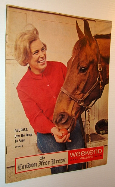 Image for Weekend Magazine, 11 June 1966 (Newspaper Insert) - Gail Ross Cover Photo