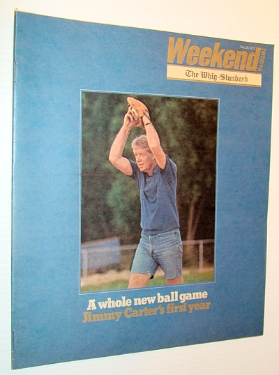 Image for Weekend Magazine, 29 October 1977 - Jimmy Carter Cover Photo