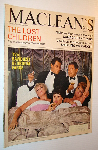 Image for Maclean's, Canada's National Magazine, 17 December 1966 - Feature Article on the Nightcap TV Show