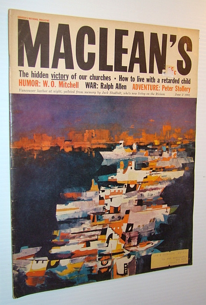 Image for Maclean's, Canada's National Magazine, 3 June 1961