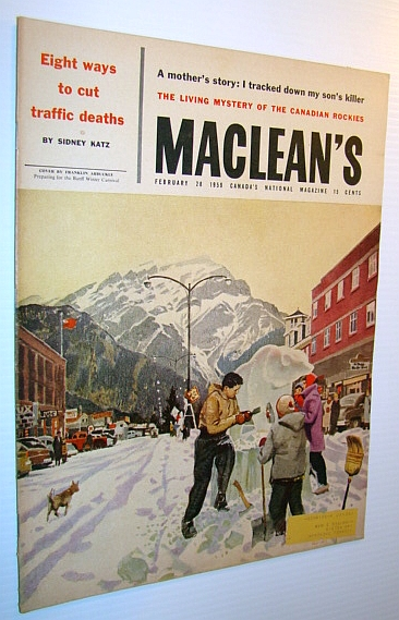 Image for Maclean's - Canada's National Magazine, February 28, 1959