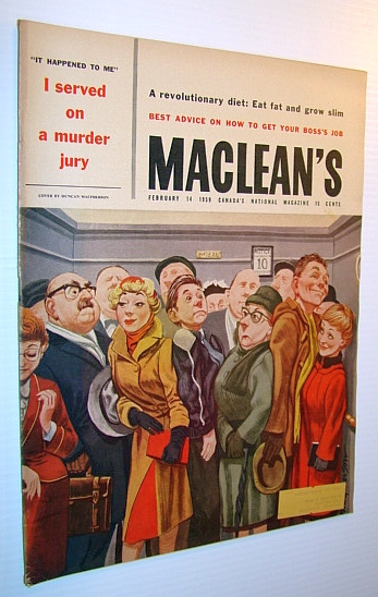 Image for Maclean's - Canada's National Magazine, February 14, 1959