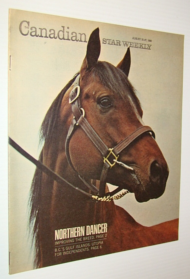 Image for The Canadian Star Weekly Magazine, August 20-27, 1966 - Northern Dancer Cover Photo