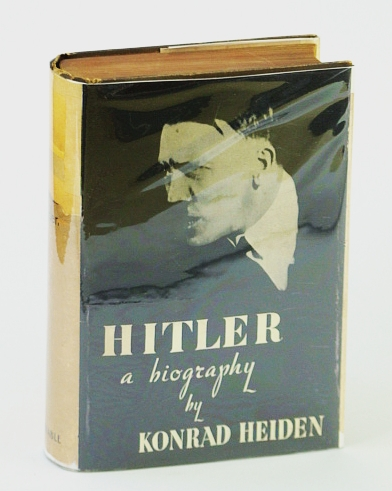 Image for HITLER, A BIOGRAPHY
