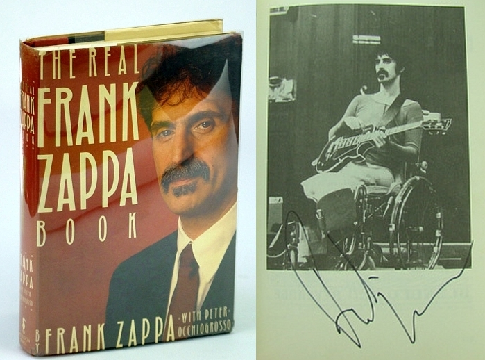 Image for The Real Frank Zappa Book