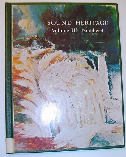 Image for Sound Heritage Volume III Number 4 - The World Soundscape Project