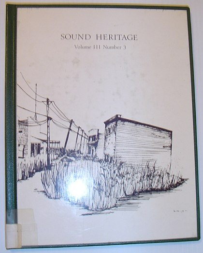 Image for Sound Heritage Volume III Number 3